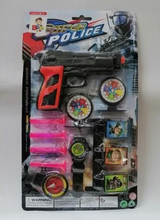 PISTOLA SUPER POLICE ITEM 00017